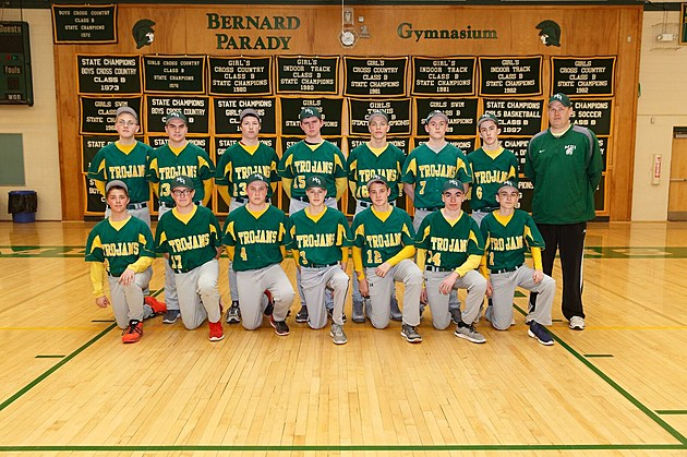 2017 MDI JV Baseball Team Photo Monty Rand